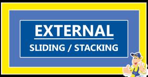 External-sliding-stacking-door
