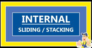 Internall-sliding-stacking-door