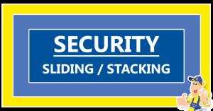 Securityl-sliding-stacking-door