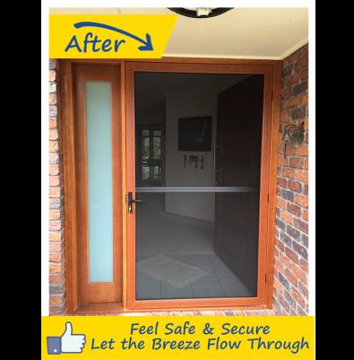 Security Screen Doors Gallery