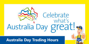 Australia Day Trading Hours 2017 Doors Plus