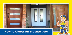 How to choose an entrance door heading
